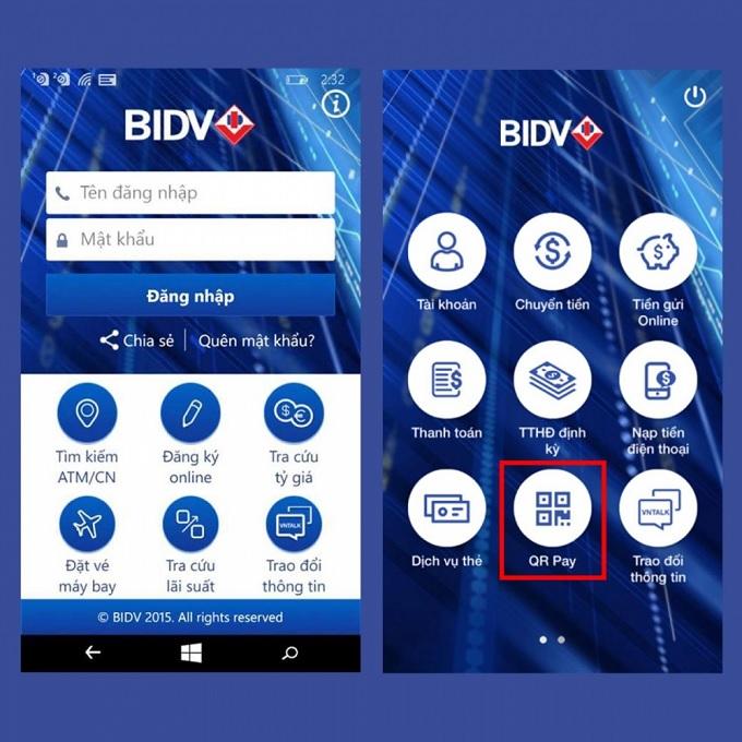 cách tra cứu số dư tài khoản ngân hàng bidv
